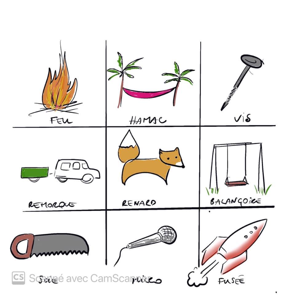 Dessiner un renard, une fusée, la poésie ou le superflu : PictoChallenge n°6