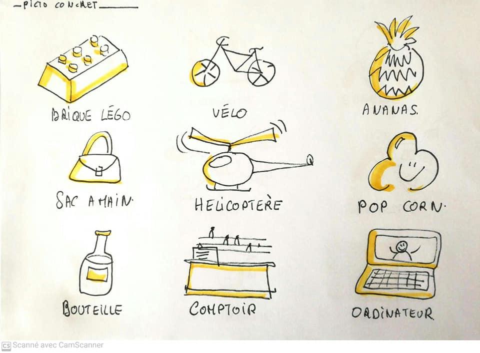 Dessiner un ananas, une brique ou la générosité : retour sur le PictoChallenge n°3
