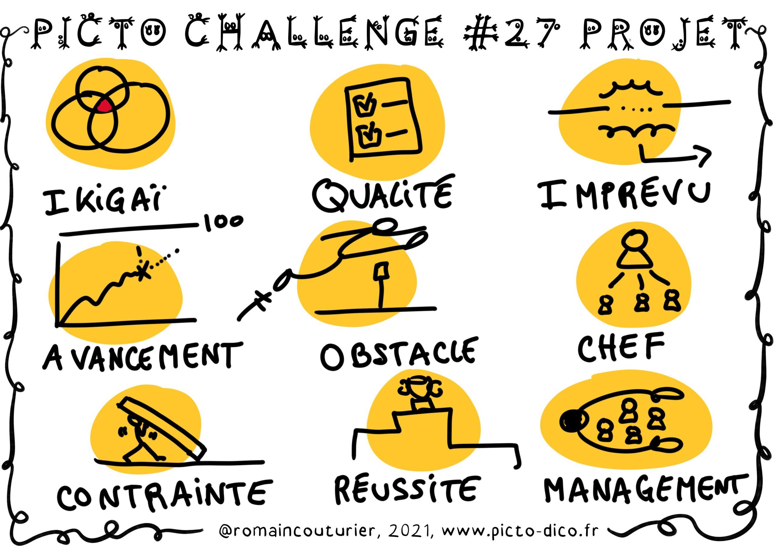 PictoChallenge n°27 spécial Projet