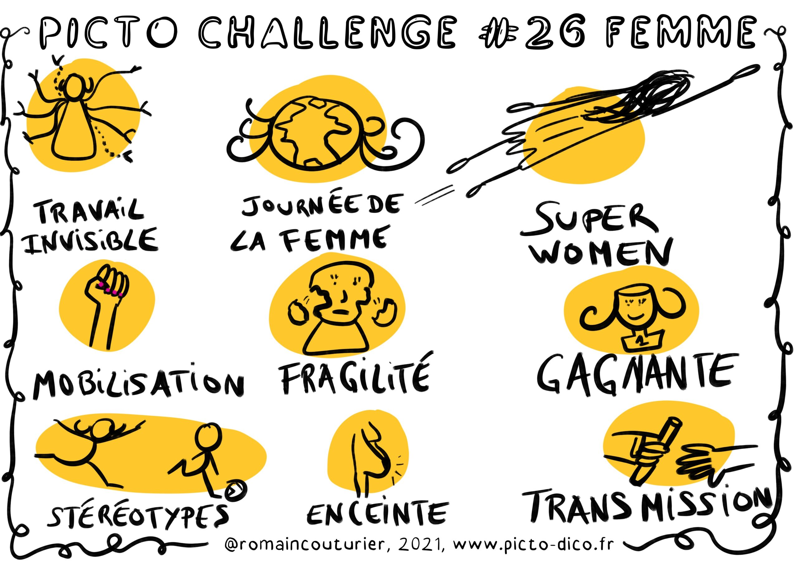 PictoChallenge n°26 spécial Femme