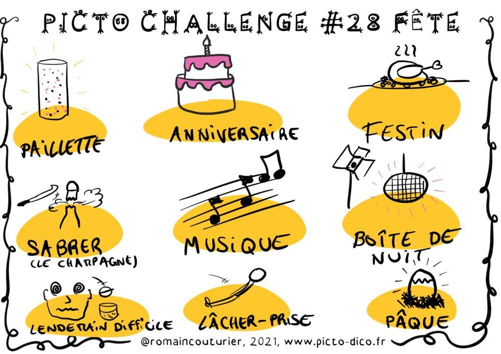 PictoChallenge n°28 spécial Fête
