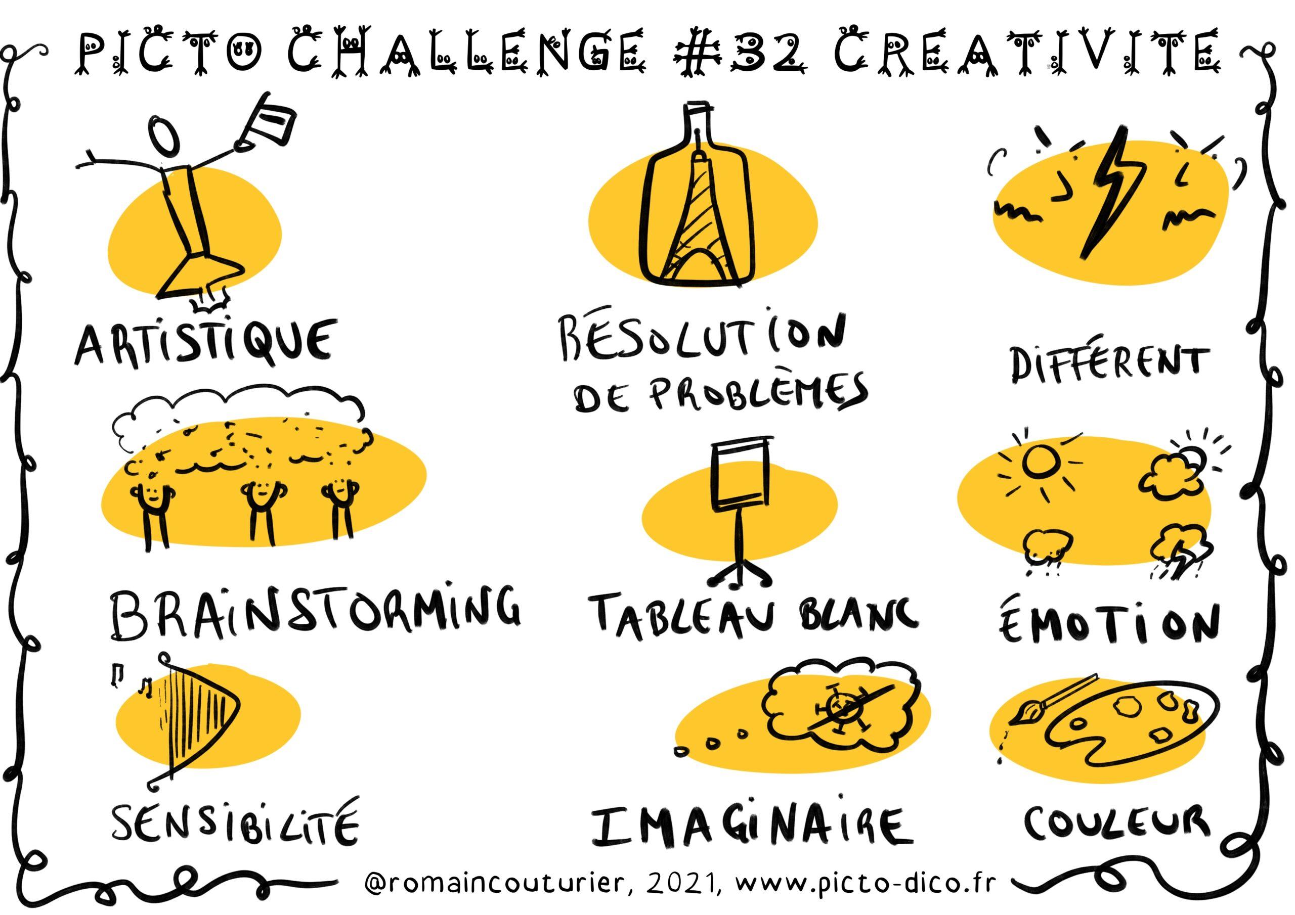 PictoChallenge n°32 spécial Créativité