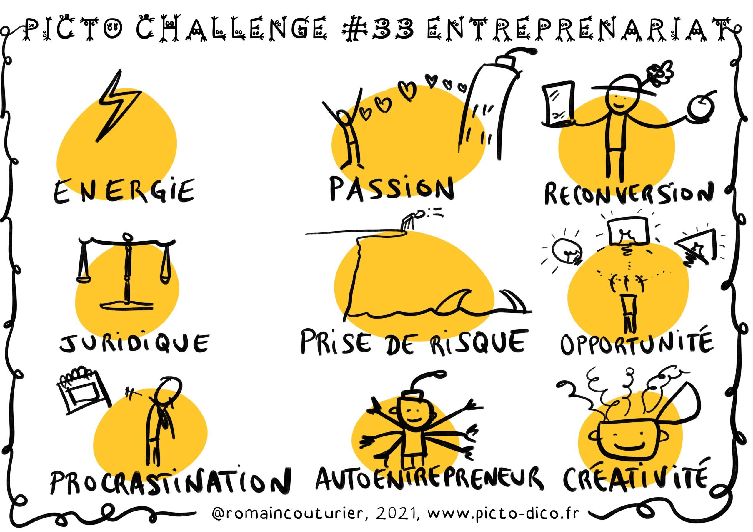 PictoChallenge n°33 spécial Entrepreneuriat