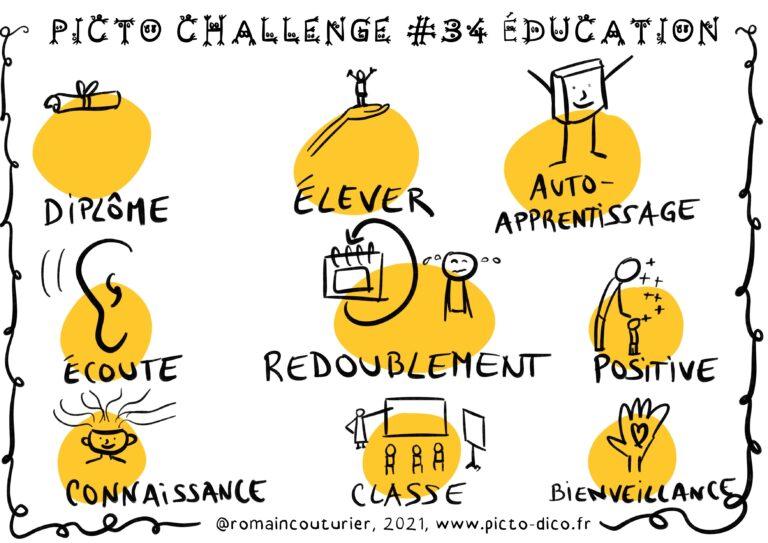 Picto_Challenge_#34_Éducation 1