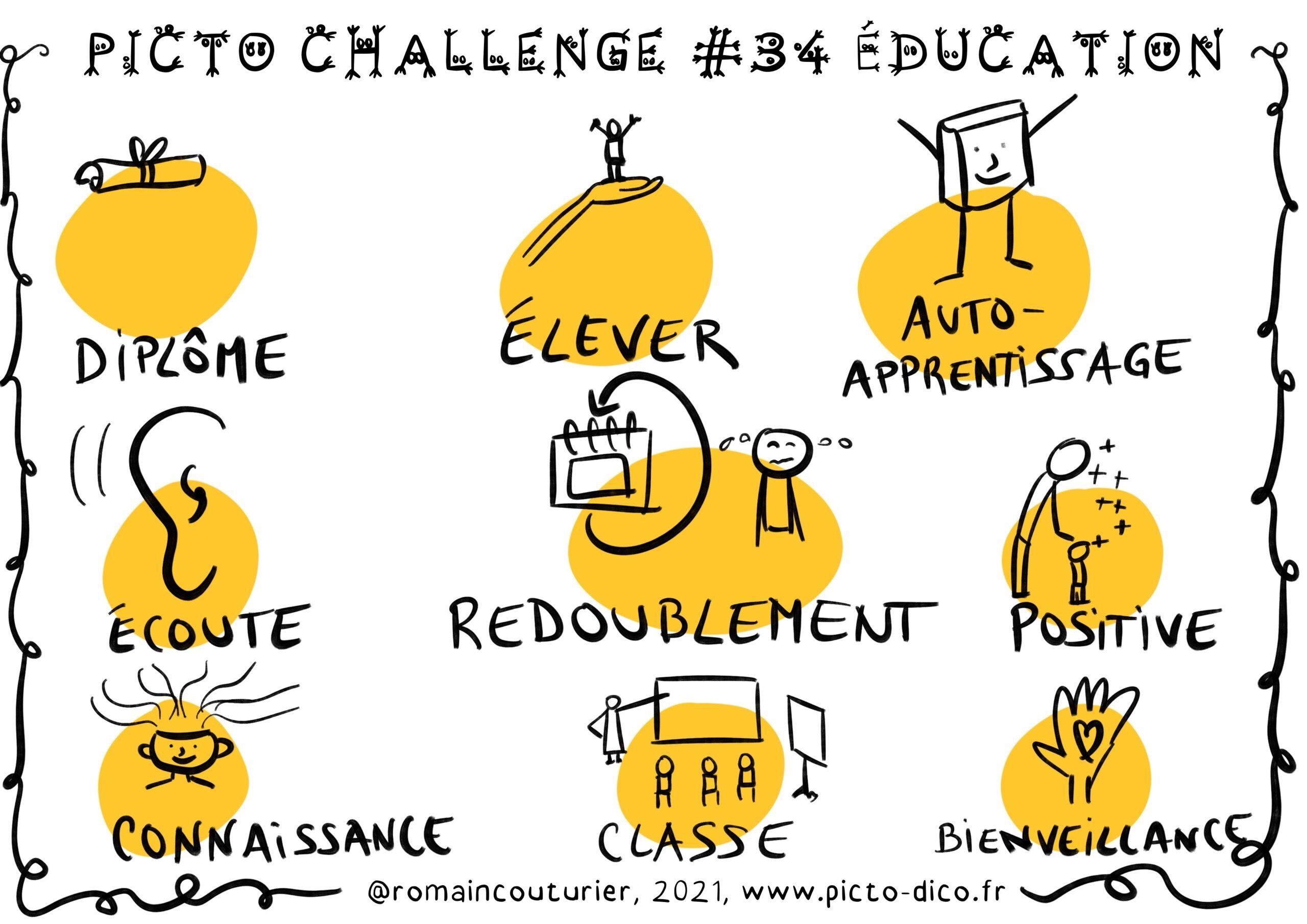PictoChallenge n°34 spécial Education