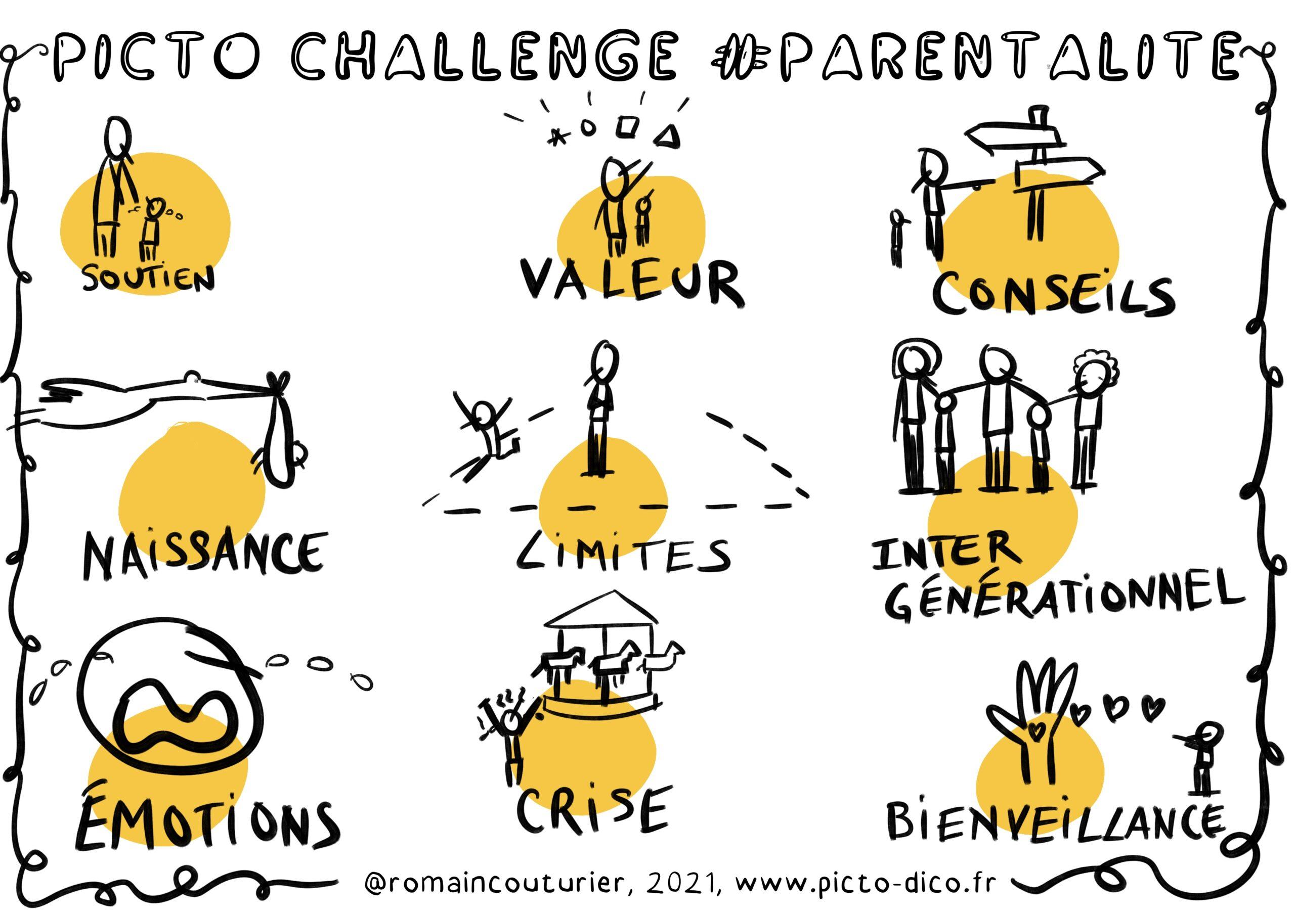 PictoChallenge n°36 spécial Parentalité
